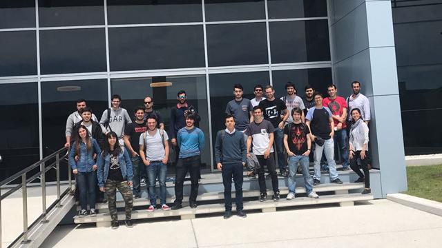 visitas a empresas de la Facultad de Ingeniería