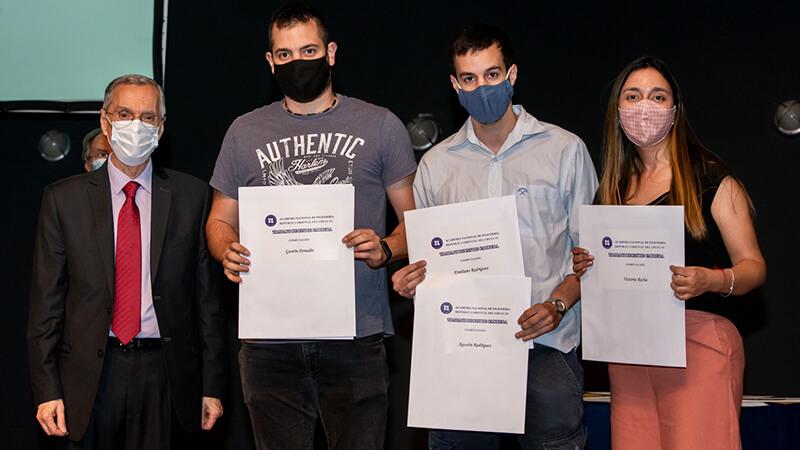 Premio categoría computación Academia Nacional de Ingneiería