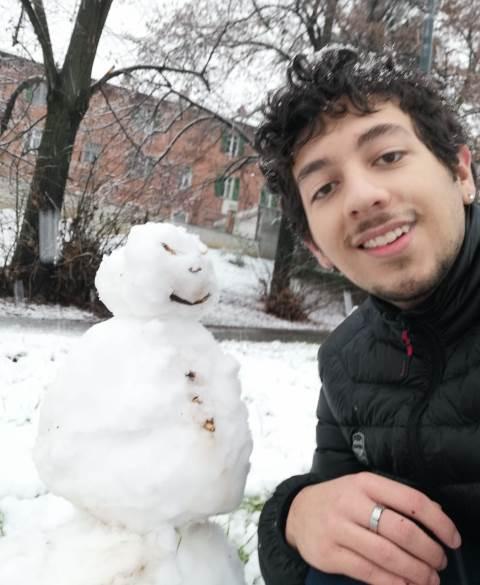 Federico Palermo, estudiante de Ingeniería en SIstemas