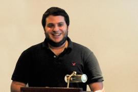 Ilan Cohn, estudiante de Ingeniería en Electrónica