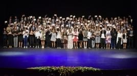 Ceremonia de graduación de los postgrados de la universidad