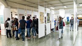 Exposición de pósteres en la Semana de la Ciencia y la Tecnología
